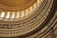 Bóveda de la capital de Estados Unidos Imagen de archivo