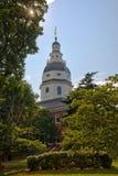Bóveda de la casa del estado de Maryland en Annapolis, Maryland Fotos de archivo libres de regalías