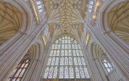 Bóveda de la catedral imagen de archivo