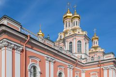 Bóveda de la catedral cruzada santa Fotos de archivo