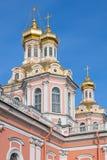 Bóveda de la catedral cruzada santa Imagenes de archivo