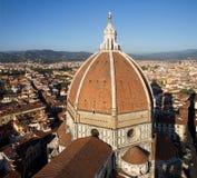 Bóveda de la catedral de Florencia foto de archivo