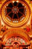 Bóveda de la catedral de Matthew del santo Foto de archivo libre de regalías