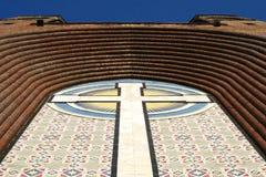 Bóveda de la catedral del cristianismo Fotos de archivo libres de regalías