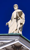 Bóveda de la catedral en Helsinki. Imagen de archivo