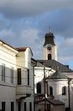 Bóveda de la elevación católica de la catedral de la cruz, Chernivtsi, Ucrania Imagen de archivo libre de regalías