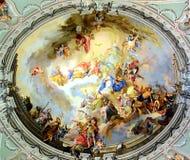 Bóveda de la iglesia Foto de archivo libre de regalías