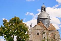 Bóveda de la iglesia colegial del Santo-Quiriace Fotos de archivo libres de regalías