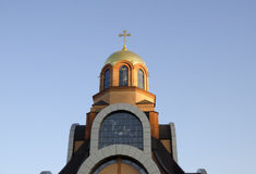 Bóveda de la iglesia cristiana Imagen de archivo