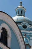Bóveda de la iglesia de Banos Foto de archivo
