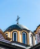 Bóveda de la iglesia de Rila Monastary Imagen de archivo libre de regalías