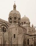 Bóveda de la iglesia en Marsella Fotos de archivo