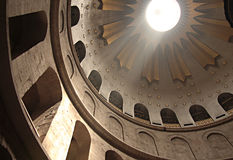 Bóveda de la iglesia santa del sepulcro fotos de archivo libres de regalías