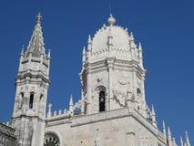 B?veda de la iglesia de St Mary, monasterio de Jeronimos, Lisboa, Portugal fotografía de archivo libre de regalías