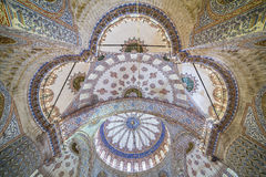 Bóveda de la mezquita azul en Estambul Imagenes de archivo