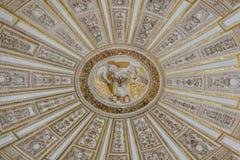 Bóveda de la mezquita de Córdoba Foto de archivo
