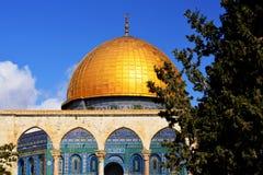 Bóveda de la roca en Jerusalén - detalle Imagenes de archivo