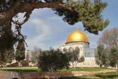 Bóveda de la roca - Jerusalén - Israel Imagenes de archivo