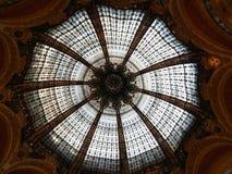 Bóveda de las galerías Lafayette Imagen de archivo libre de regalías