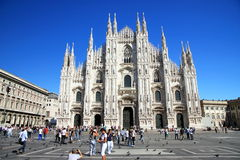 Bóveda de Milano Imágenes de archivo libres de regalías