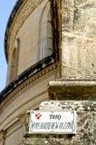 Bóveda de Mosta Foto de archivo libre de regalías
