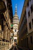 Bóveda de Novara Foto de archivo libre de regalías