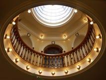 Bóveda de oro Imágenes de archivo libres de regalías
