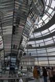 Bóveda de Reichstag - Berlín Foto de archivo libre de regalías