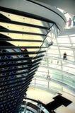 Bóveda de Reichstag - Berlín Foto de archivo