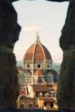 Bóveda de Santa María Del Fiore Foto de archivo