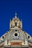 Bóveda de Santa Maria di Loreto en Roma imagenes de archivo