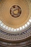 Bóveda del capitolio de los E.E.U.U. Imágenes de archivo libres de regalías