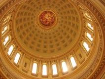 Bóveda del capitolio de Madison Fotografía de archivo