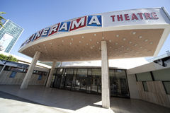 Bóveda del Cinerama foto de archivo