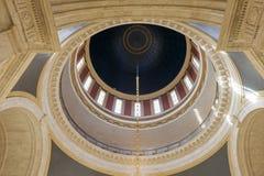 Bóveda del edificio del capitolio del estado de Virginia Occidental Imágenes de archivo libres de regalías