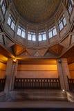 Bóveda del edificio del Nilometer, un dispositivo egipcio antiguo de la medida del agua usado para medir el nivel de río el Nilo, imágenes de archivo libres de regalías