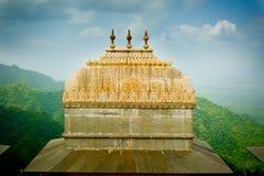 Bóveda del fuerte de Kumbhalgarh foto de archivo libre de regalías