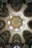 Bóveda del monasterio de Batalha imagen de archivo libre de regalías