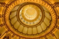 Bóveda del oro imagen de archivo libre de regalías
