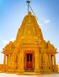 Bóveda del templo de Adeshwar Nath Jain fotografía de archivo libre de regalías