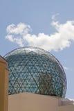 Bóveda del vidrio del museo de Dalí Fotografía de archivo libre de regalías