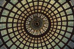 Bóveda del vidrio manchado Foto de archivo libre de regalías