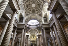 Bóveda dentro del panteón Fotografía de archivo libre de regalías
