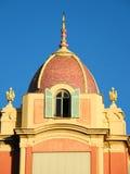Bóveda embaldosada en Niza Imagen de archivo libre de regalías