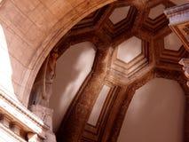 Bóveda en el palacio del patio de las bellas arte en San Francisco imagenes de archivo
