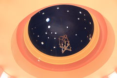 Bóveda estrellada Fotografía de archivo libre de regalías
