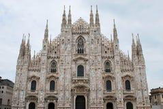 Bóveda gótica de Milano, Italia Fotografía de archivo libre de regalías