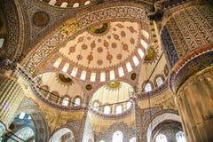Bóveda hermosa de una mezquita en Estambul Imagen de archivo