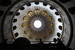 Bóveda, iglesia del sepulcro santo Foto de archivo libre de regalías