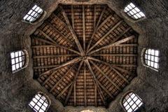 Bóveda interior de la abadía Fotografía de archivo libre de regalías